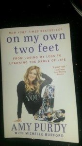 On my own two feet, from loosing my legs to learning the dance of life - Amy Purdy